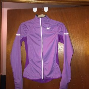 Nike dry-fit zip up